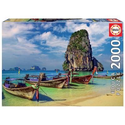 EDUCA Puzzle Krabi, Thajsko 2000 dílků