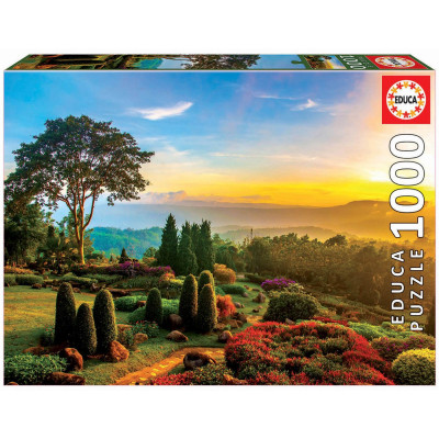 EDUCA Puzzle Krásná zahrada 1000 dílků