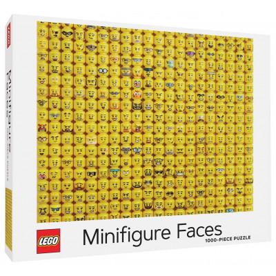 Puzzle LEGO® Minifigure Faces 1000 dílků