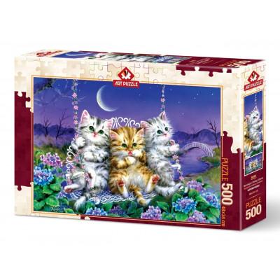 ART PUZZLE Puzzle Koťátka 500 dílků
