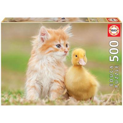 EDUCA Puzzle Rozkošní přátelé 500 dílků