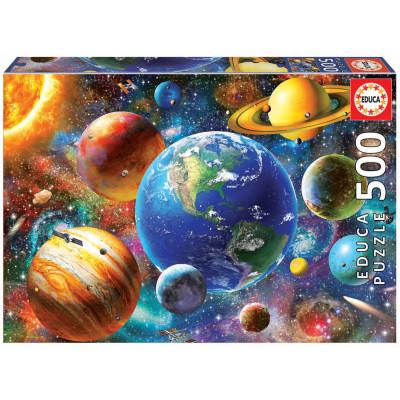 EDUCA Puzzle Sluneční soustava 500 dílků