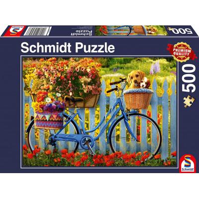 SCHMIDT Puzzle Nedělní odpočinek s přáteli 500 dílků