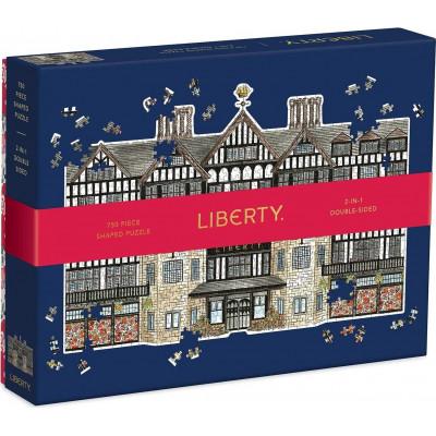 GALISON Tvarové puzzle Budova Liberty London 750 dílků