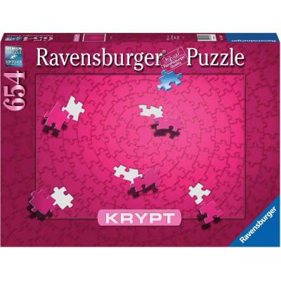 RAVENSBURGER Puzzle KRYPT (barva růžová) 654 dílků