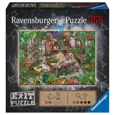 RAVENSBURGER Únikové EXIT puzzle Ve skleníku 368 dílků