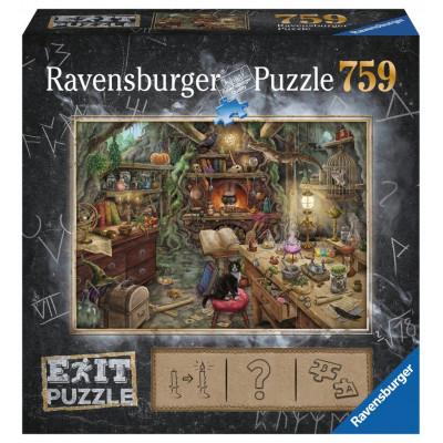 RAVENSBURGER Únikové EXIT puzzle Čarodějná kuchyně 759 dílků
