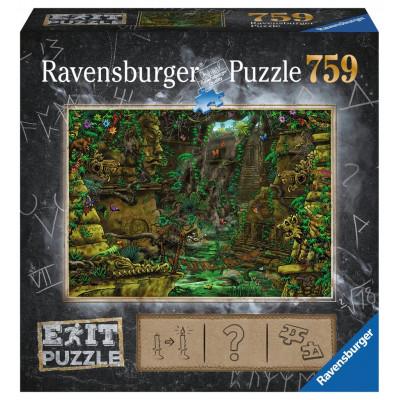 RAVENSBURGER Únikové EXIT puzzle Tajemný chrám 759 dílků