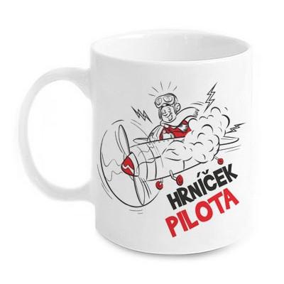 Vtipný hrnek - Pilota
