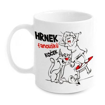 Vtipný hrnek - Fanoušků koček