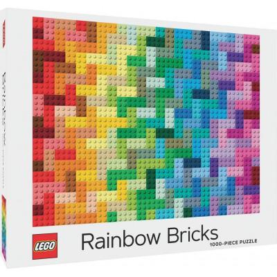 Puzzle LEGO® Rainbow Bricks 1000 dílků