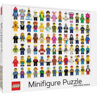 Puzzle LEGO® Minifigurky 1000 dílků