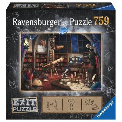 RAVENSBURGER Únikové EXIT puzzle Observatoř 759 dílků