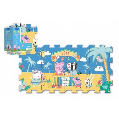 Trefl Pěnové puzzle Prasátko Peppa/Peppa Pig 32x32cm 8ks