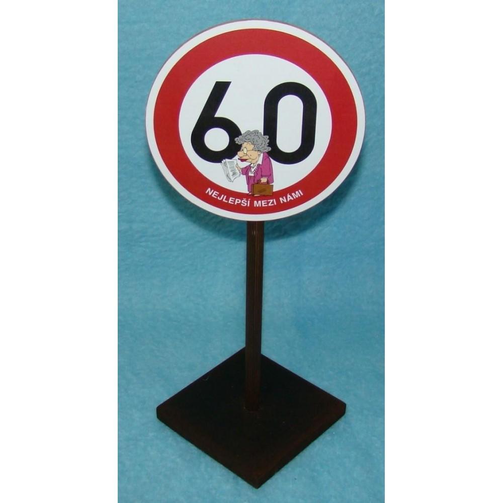 Značka - 60 - Nejlepší mezi námi (žena)