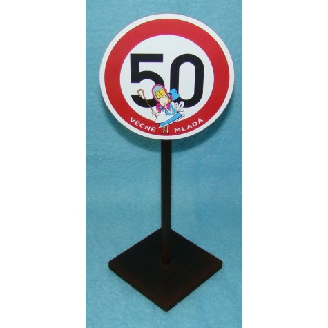 Značka - 50 - Věčně mladá