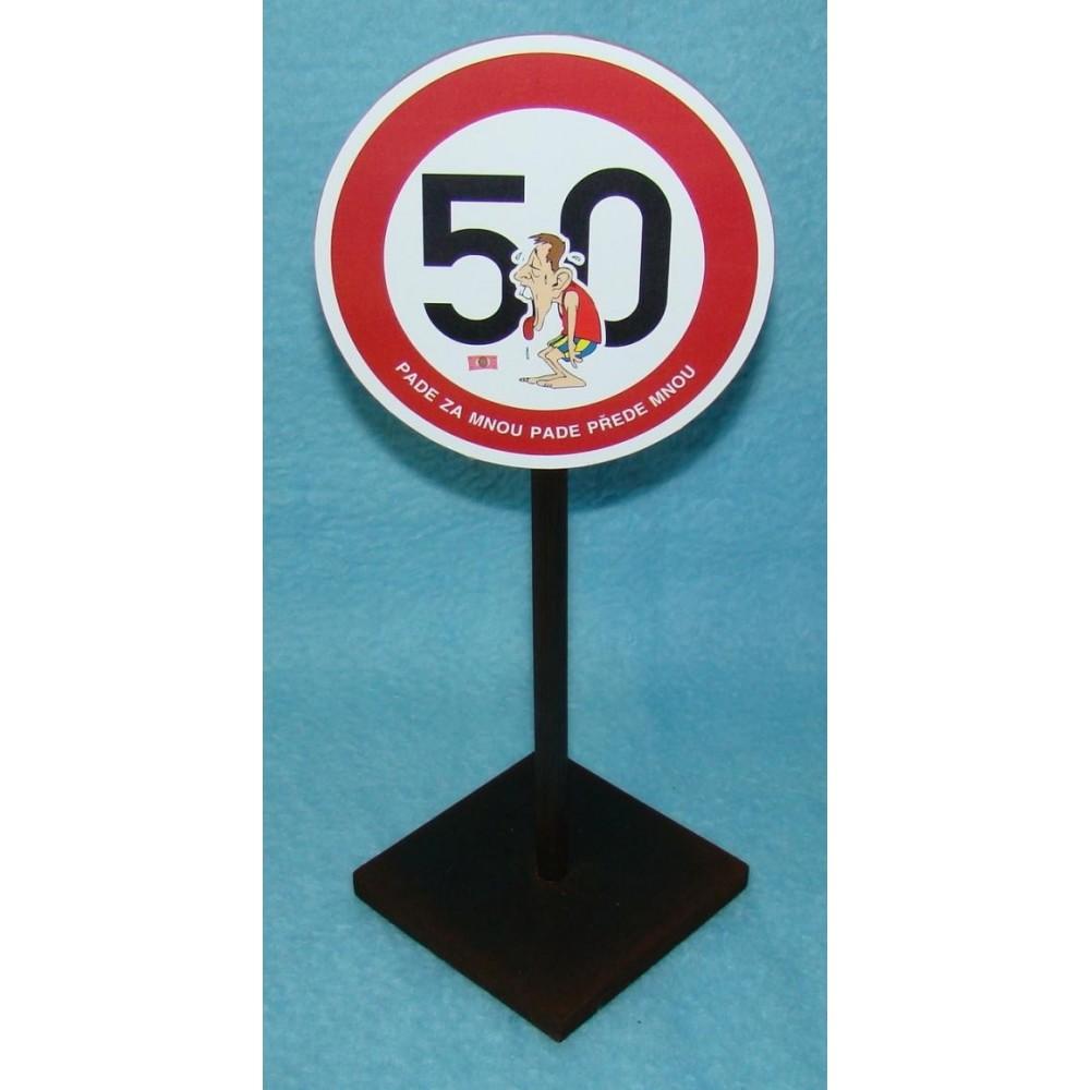 Značka - 50 - Pade za mnou pade přede mnou