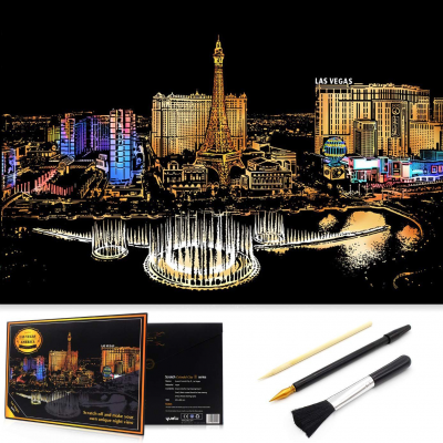 Stírací obraz - Las Vegas