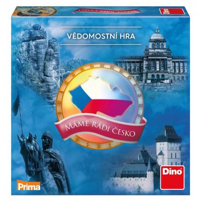 Dino Máme rádi Česko Rodinná hra