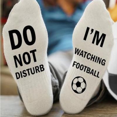 Ponožky - Nerušit, dávají fotbal