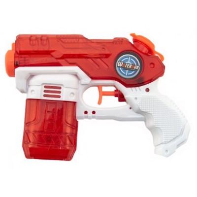 Vodní pistole plast 19cm - červená