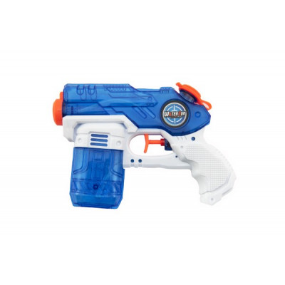 Vodní pistole plast 19cm - modrá