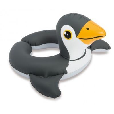 Intex 59220 Kruh nafukovací zvířátko cca 66x55cm 3-6 let - tučňák