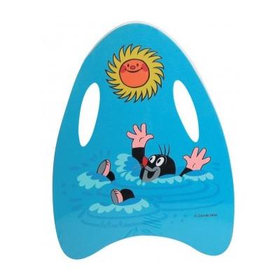 Wiky Plavací pěnová deska Krtek 33x45cm - modrá