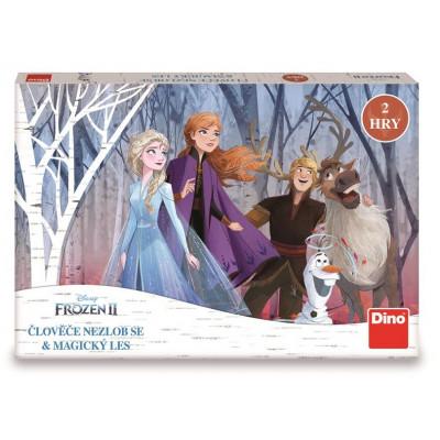 Dino Frozen: Člověče nezlob se a magický les dětská hra