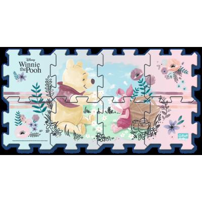 Trefl Pěnové puzzle Medvídek Pú 32x32x1cm 8ks