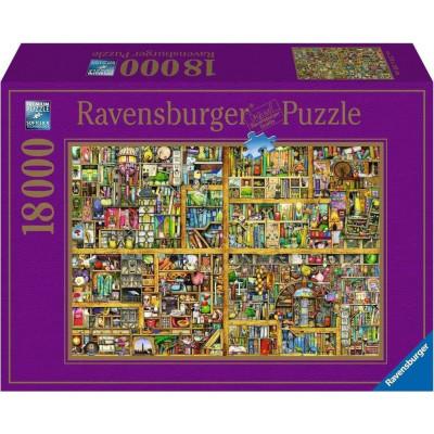 RAVENSBURGER Puzzle Kouzelná knihovna 18000 dílků