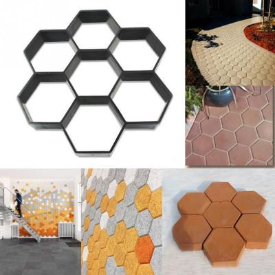 Forma na betonové chodníky - šestiúhelník 30x30cm
