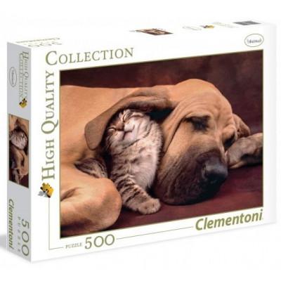 CLEMENTONI Puzzle Tulení 500 dílků