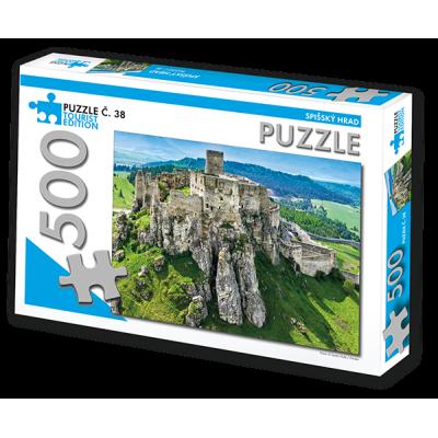 TOURIST EDITION Puzzle Spišský hrad 500 dílků (č.38)