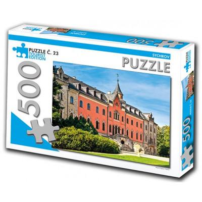 TOURIST EDITION Puzzle Sychrov 500 dílků (č.23)