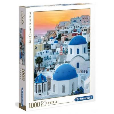 CLEMENTONI Puzzle Santorini 1000 dílků