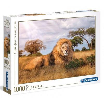 CLEMENTONI Puzzle Král zvířat 1000 dílků