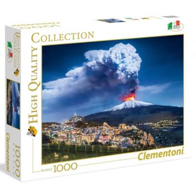 CLEMENTONI Puzzle Etna, Itálie 1000 dílků