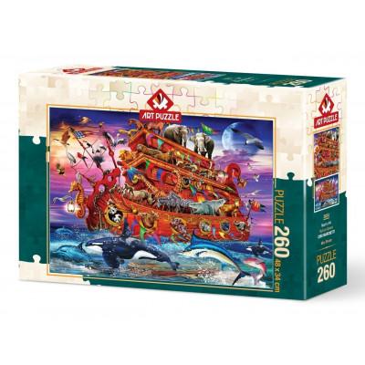 ART PUZZLE Puzzle Noemova archa 260 dílků