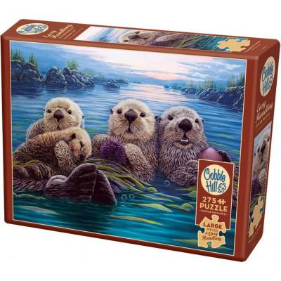 COBBLE HILL Puzzle Mořské vydry XL 275 dílků