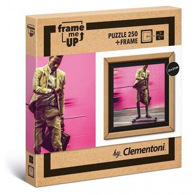 CLEMENTONI Puzzle s rámečkem Frame Me Up Rychlost žití 250 dílků