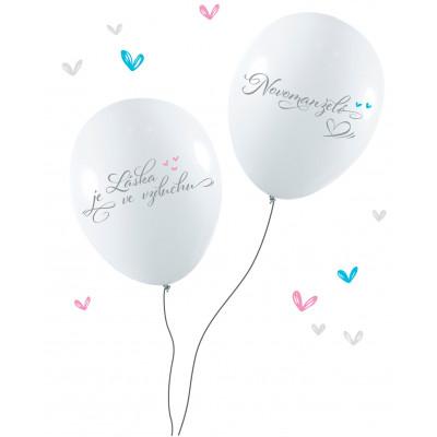 Albi Svatební balónky 10ks