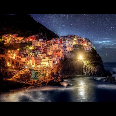 Diamantové malování - Cinque Terre