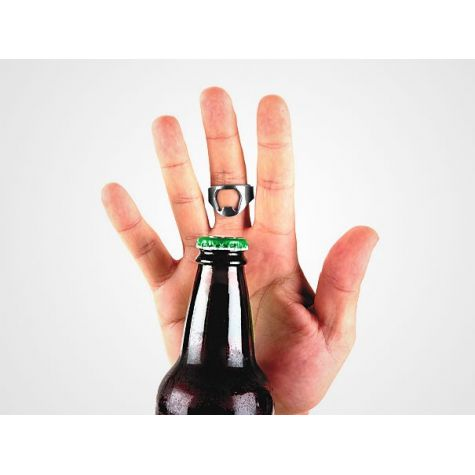 Otvírák lahví prsten 2ks