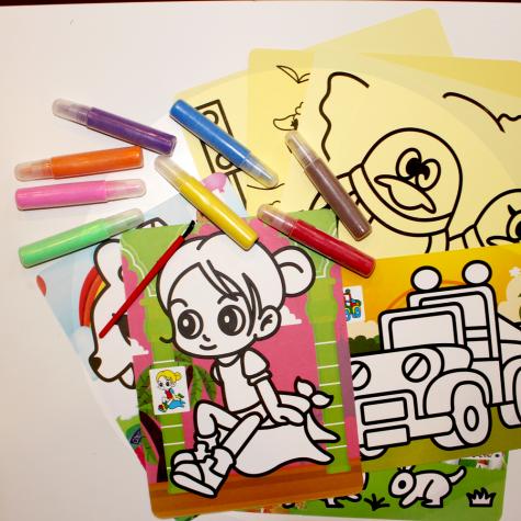 Kreslící písek - velký set