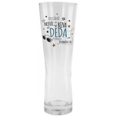 Nekupto Dárkové centrum Pivní sklenice - Dědeček