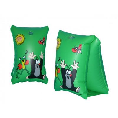 Wiky Rukávky Krtek nafukovací 30x15cm 6-12 let - zelené