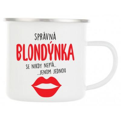 Plecháček - Správná blondýnka