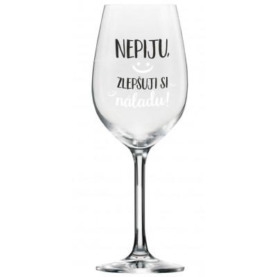 Albi Mega sklenice na víno - Zlepšuji si náladu