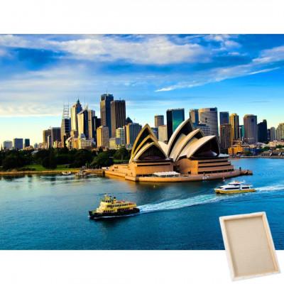 Diamantové malování s rámem - Sydney